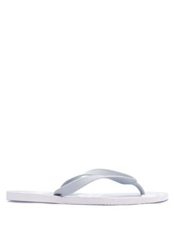 Dupe white Copacobana Flip Flops DU626SH30UWFPH_1