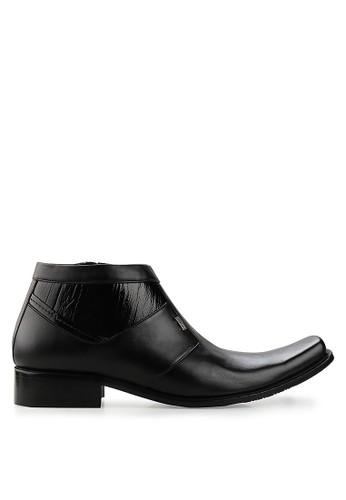 Marelli black Cleon Ankle Boot MA036SH80RSLID_1