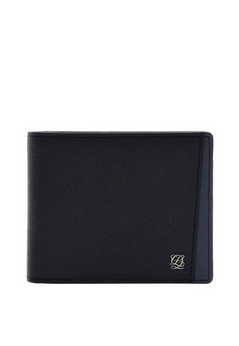 Louis Quatorze black Leather Wallet LO321AC09LRASG_1