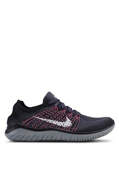 43b50a8c265709 Nike black and multi Nike Free Rn Flyknit 2018 Shoes 7EA72SH96B2B53GS 1