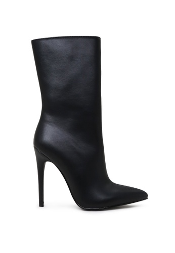 London Rag black High Ankle Stiletto Boots 49ED4SH7F591E6GS_1