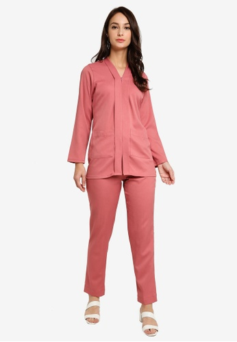 Marina Suit from SOPHIA RANIA in Pink
