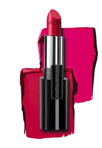 L'Oréal Paris red L'Oreal Paris Infallible Le Rouge Lipstick - 337 Refined Ruby ECF11BE61206EEGS_1