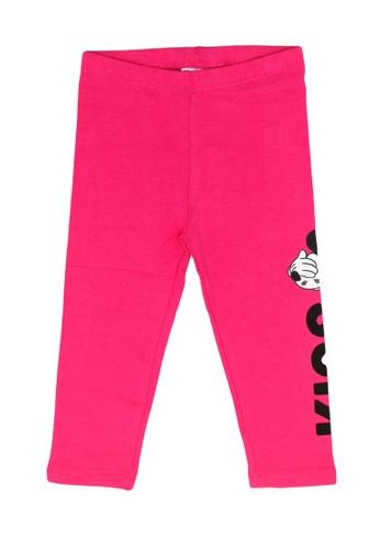 FOX Kids & Baby pink Baby Girl Disney Pants F5A58KAF364349GS_1
