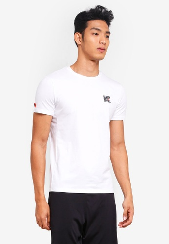Superdry white Core Sign Off Tee D84BFAAAFF4B60GS_1
