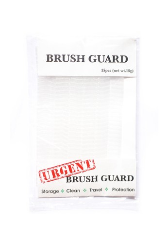 Urgent white URGENT 15pcs Brush Guard for Protect, Storage and Shaped your Brushes AC63EBE674097CGS_1