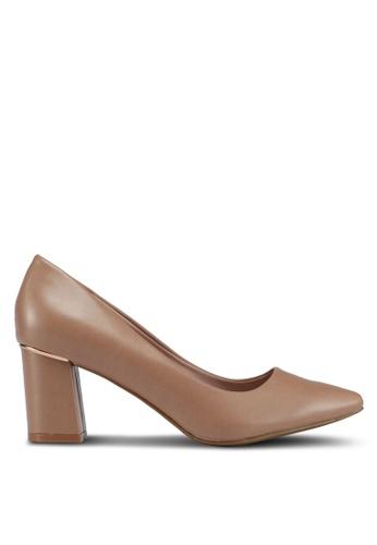Bata 米褐色 Bata Women Heels 790B9SH5016C49GS_1