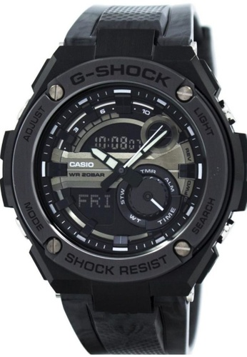 CASIO black Casio G-Shock G-Steel Black Resin Watch 90DCDACC068624GS_1