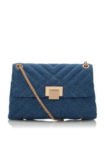 Dune London blue Dune London Dorchester Women Small Quilted Shoulder Bag E6A85ACAA182A3GS_1