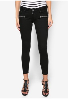 Low Rise Amelie Super Skinny Jeans