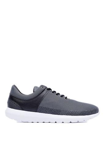 Life8 黑色 MIT。輕量。細孔網布。漂浮運動鞋-09382-黑色 LI216SH30QZHTW_1