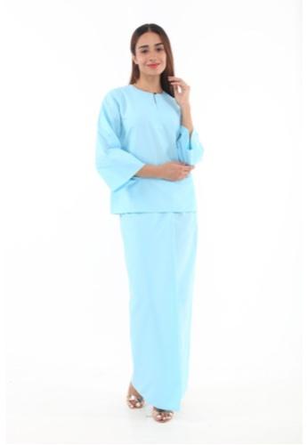 Amar Amran blue Baju Kurung Kedah Qaseh C4F77AA49AA921GS_1