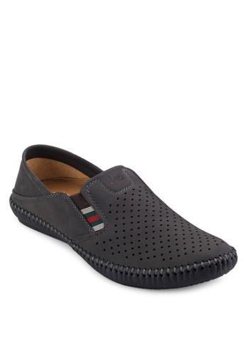 透氣沖孔休閒懶人esprit hk鞋, 鞋, 鞋
