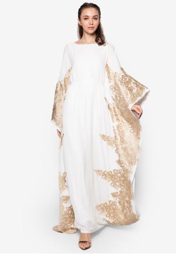 Laesprit品牌介绍ce Piece Kaftan, 服飾, 洋裝
