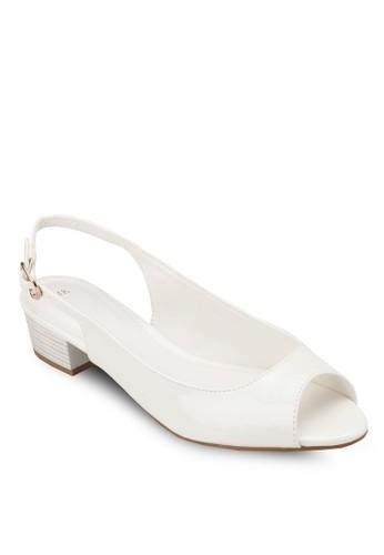 露趾繞踝粗跟鞋, 女鞋esprit tote bag, 魚口鞋