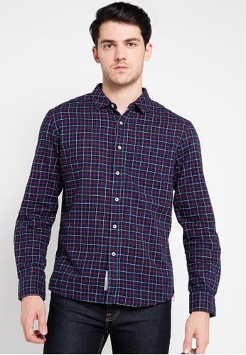 X8 navy Benjamin Shirts X8323AA0UDHNID_1