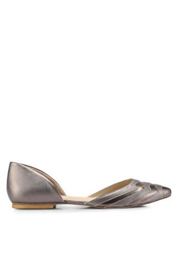 OCEEDEE 灰色 Carole 平底鞋 0361DSH8CF02C4GS_1