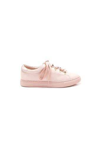Elisa Litz pink Hathaway Sneakers (Pink) 1463CSHE231B6AGS_1