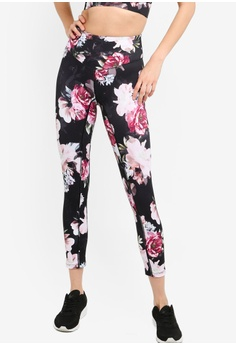 baac2184e6ed04 L'urv black Moody Bloom 7/8 Leggings C878DAA49BD5EBGS_1