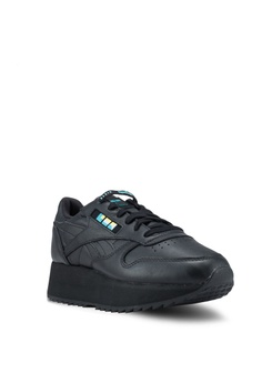 079879f63bfd6 38% OFF Reebok Classic Leather Double Shoes HK  799.00 NOW HK  498.90 Sizes  5 6 7 8 9