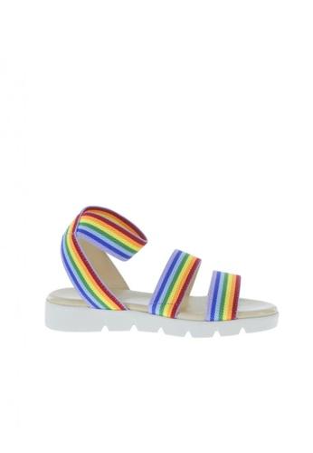 Smartfit multi Girls' Rainbow Raven Sandals FF4B1KSBA2EDF6GS_1