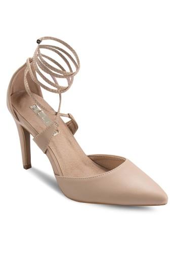 Terrano 繞踝側鏤空高跟鞋, 女鞋, esprit hk outlet鞋