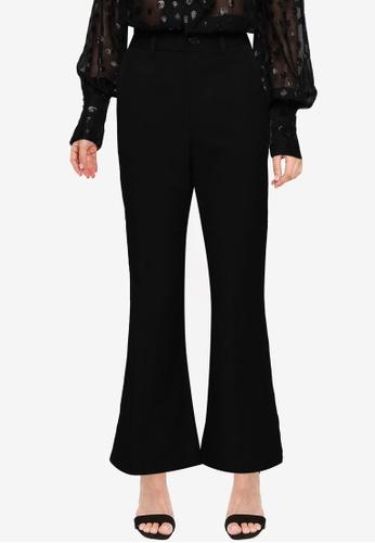 URBAN REVIVO black Casual Trousers BA34AAAA089A26GS_1