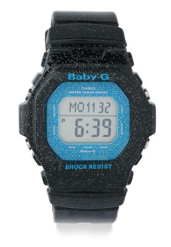 Baby-G black Casio BABY-G Jam Tangan Wanita - Black Blue - Resin - BG-5600GL-1DR 73D4EACDBC1ECFGS_1