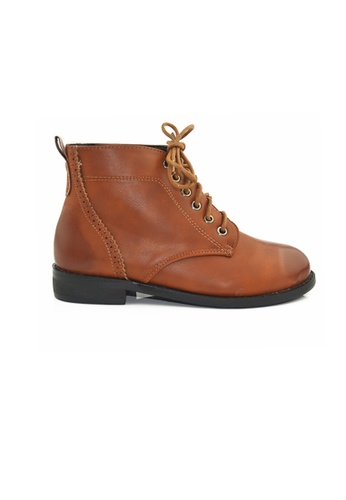 SHINE brown Ankle Boots SH554SH19BLKSG_1