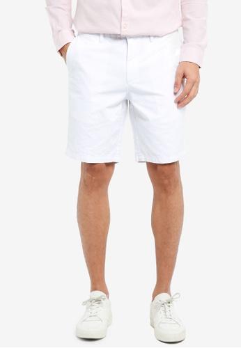 River Island white Brando Oxford Shorts 721D6AA7875CC4GS_1