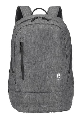 Nixon grey Nixon - Traps Backpack - Charcoal Heather (C2865168)  E34FEACDF48A6BGS 1 7dbcc842047d