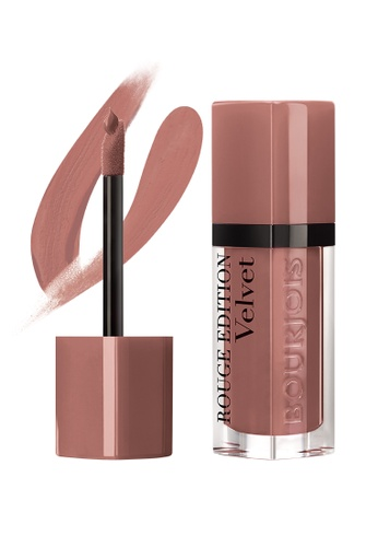 BOURJOIS brown and beige Bourjois Rouge Edition Velvet Lipstick #32 Top Brunche! (SEPT 21 onwards) 0AA1EBE2961A4DGS_1