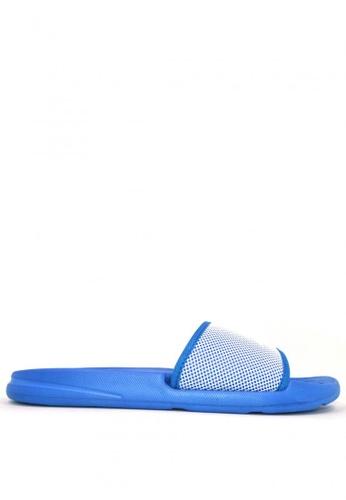 ACCEL white and blue Palaui M Sports Sandals 8EAECSH1ABF2EBGS_1