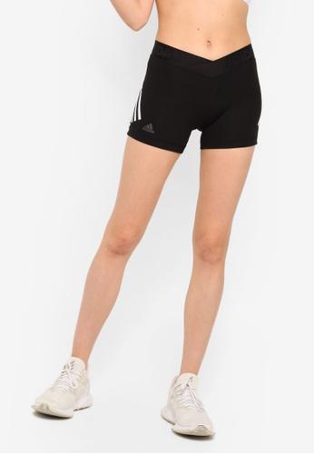 f8d0f64e2bbc7 adidas black adidas Alphaskin Sport 3-Stripes Short Tights  32AF2AA4D86B62GS_1