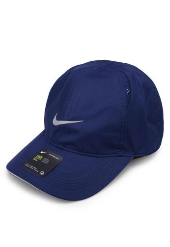 Nike blue Nike Featherlight Cap 2B714AC912AA00GS_1