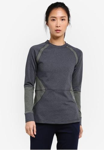 AVIVA grey Long Sleeve Shirt AV679AA0S9EYMY_1