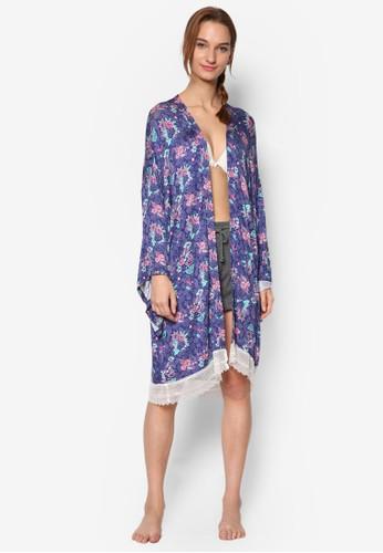 花卉印花和服式睡袍, 服飾esprit台北門市, 睡袍