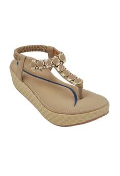 Zaina Wedge Sandals