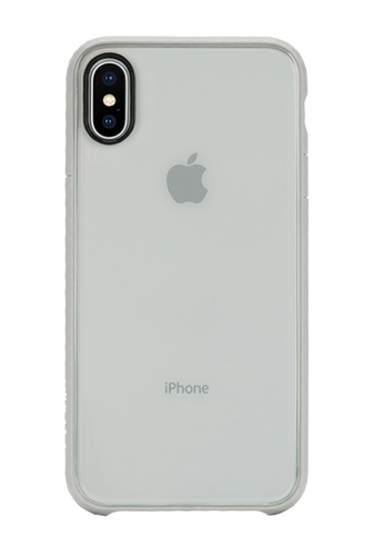 Incase grey Incase INPH190382-SLT Pop Case for iPhone X - Clear/SLATE 59F7CACAE11564GS_1