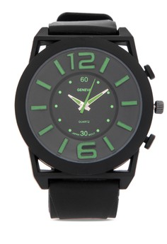 Simple Analog Silicone watch