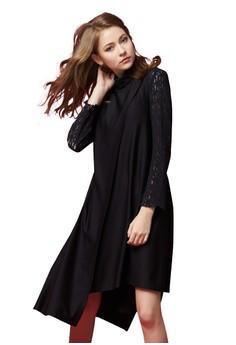 【ZALORA】 OUWEY歐薇 時尚高領長版背心洋裝