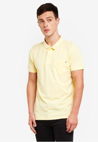 Cotton On 黃色 口袋POLO衫 D04F0AA9020ADEGS_1