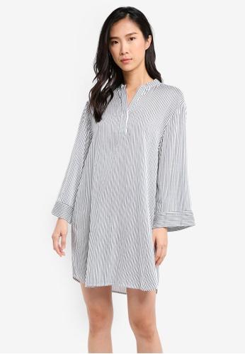 ZALORA multi Oversized Shirt Dress BFABEAA14EE217GS_1