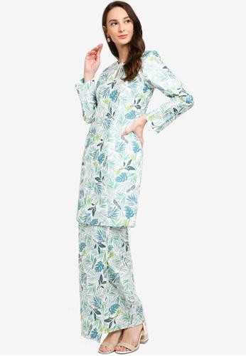 Butik Sireh Pinang white Baju Kurung Moden Yasmin 5B818AA6125F88GS_1