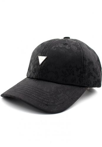 HATER black Chinese Flower Cap (Black) C6949ACF821F0CGS_1