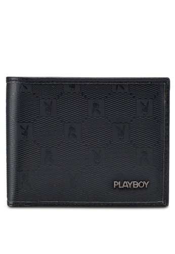 Playboy black Playboy Rfid Blocking Wallet 4290FAC5FEDCF2GS_1
