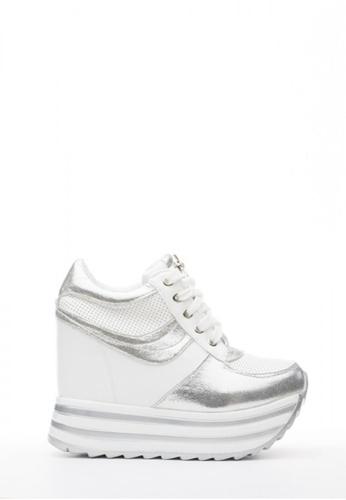 Kings Collection Korean高幫厚底休閑鞋 (內置增高5吋) KI513SH57UBYTW_1