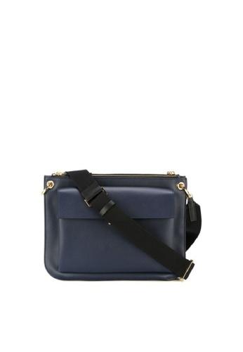 Marni blue MARNI BANDOLEER SHOULDER BAG 3BDE2AC68F7A25GS_1