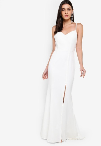 JARLO LONDON white Xene Dress 25DCAAA3B2BDB9GS_1
