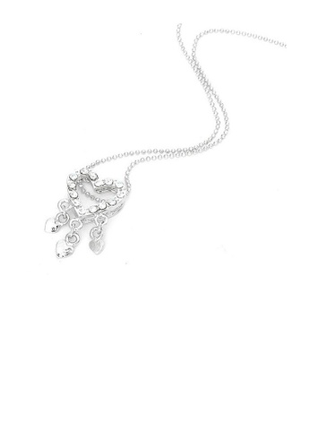 Glamorousky silver Dazzling Heart Pendant with Silver CZ and Necklace C88A7AC62DFB18GS_1